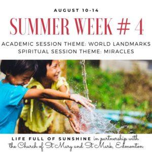 summer remote school camp program for preschool